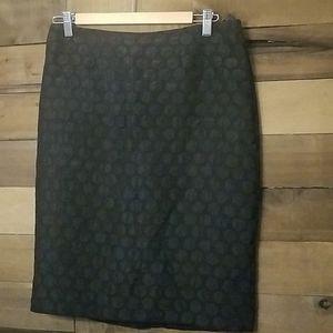 Anthropologie Size 6 Black skirt